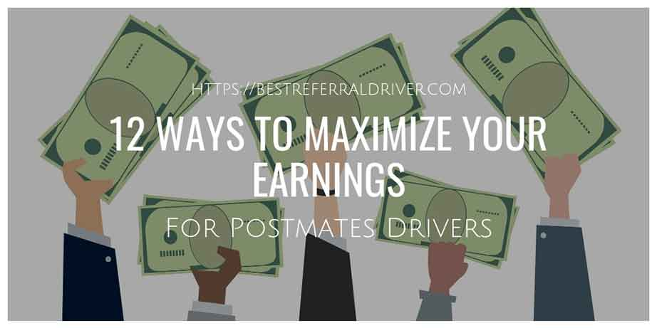 12 ways to maximize your earnings for Postmates drivers