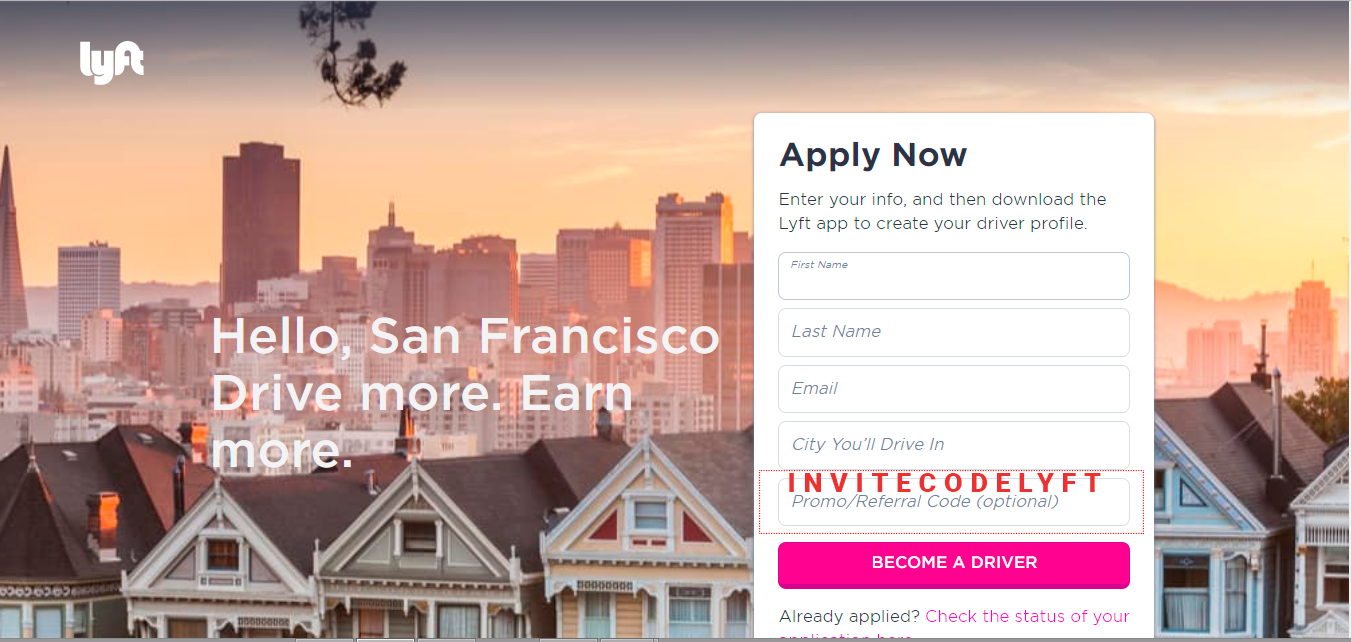 Lyft Sign-up Bonus Step 2