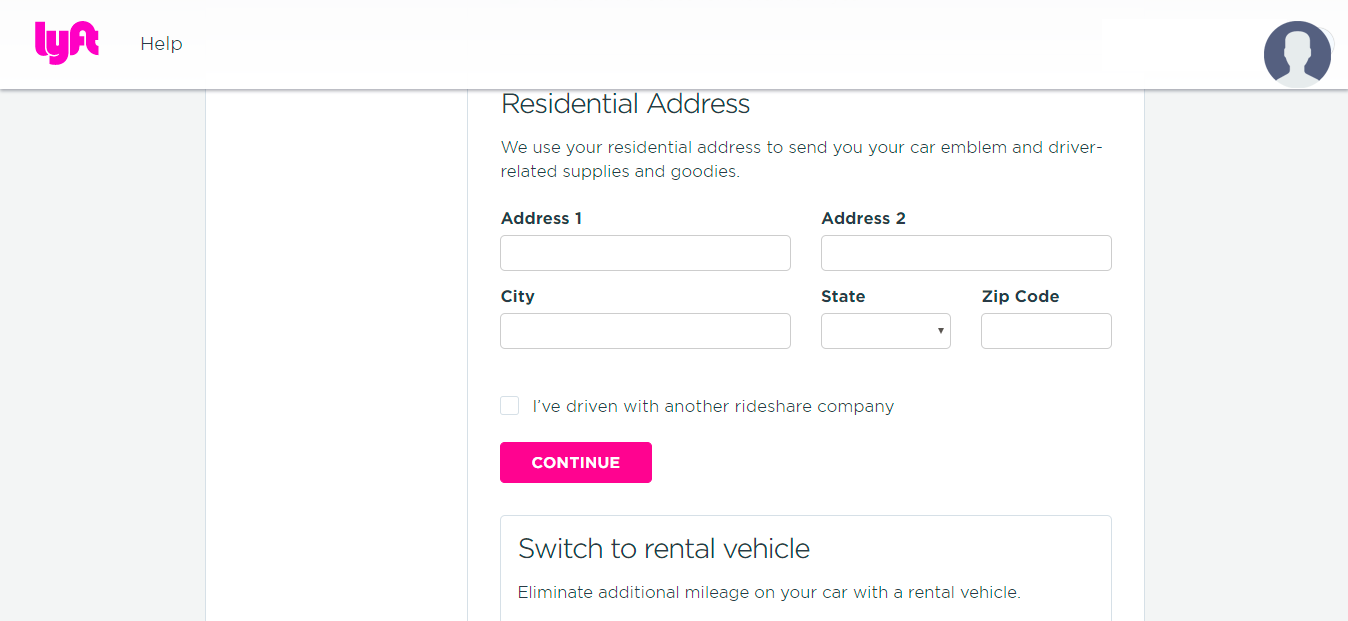 Lyft Sign-up Bonus Step 4