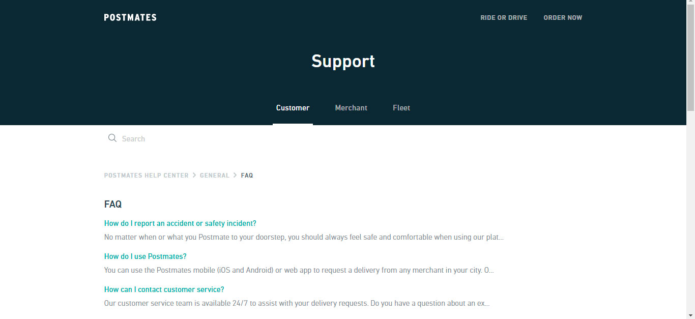 3 Easy Ways to Contact Postmates Driver & Customer Support