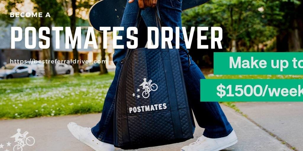 How To Become A Postmates Driver In 4 Easy Steps
