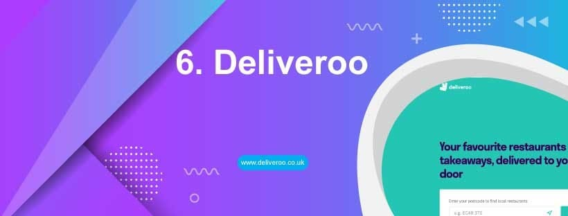 deliveroo food delivery