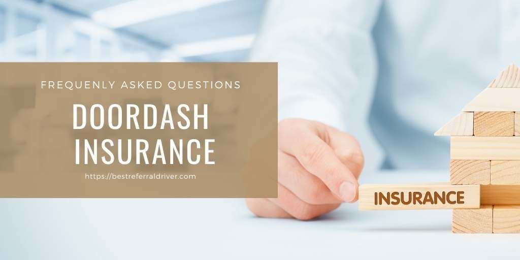doordash insurance FAQ