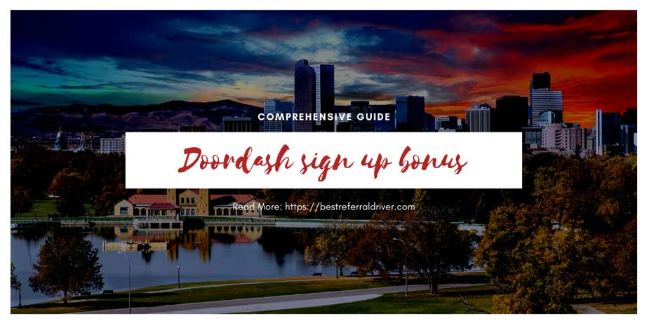 doordash sign up bonus denver