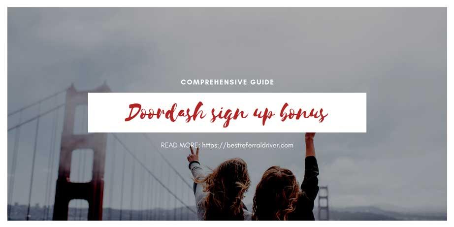 DoorDash Driver Sign-up Bonus San Francisco [Updated 2019]
