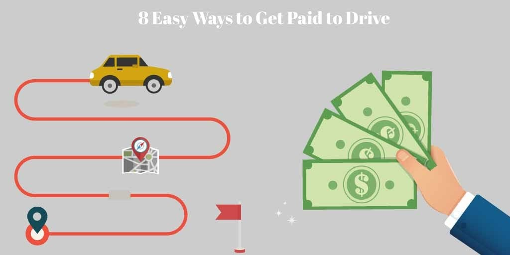 easy ways toget paid to drive