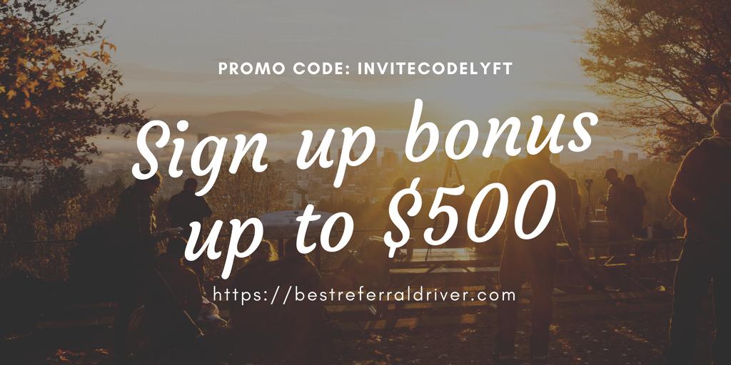 Lyft driver promo code Portland up to $500   Bestreferraldriver com