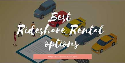 rideshare and delivery rental options