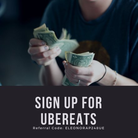 sign up for ubereats