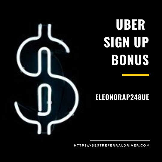 uber sign-up bonus Indianapolis