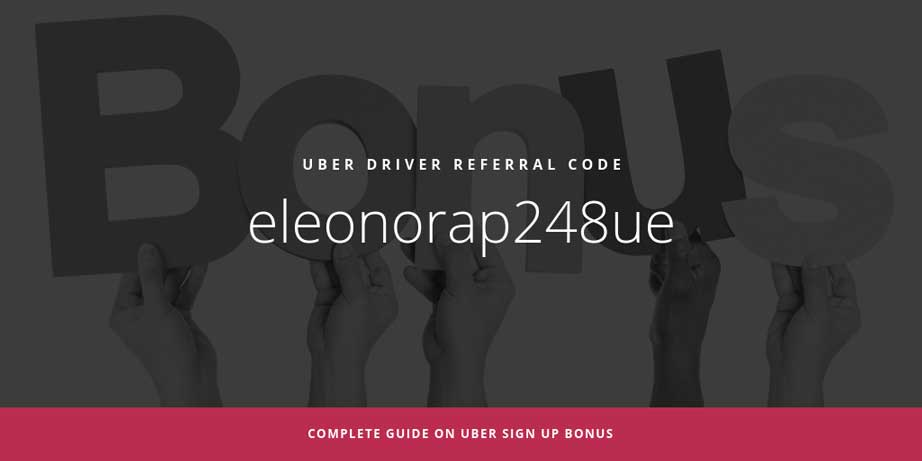Sign up and Drive Uber in Boston ~ Best Bonus