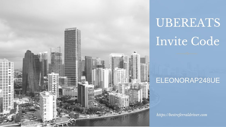 Ubereats Sign up Bonus Miami - Best Invite Code 2019