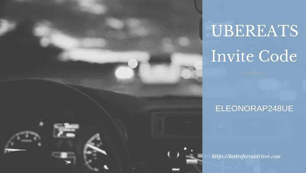 Uber Eats Sign up Bonus Lancaster - Best Invite Code 2019